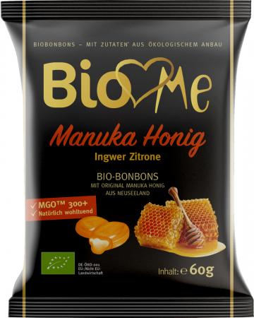 Bomboane cu miere de Manuka si ghimbir