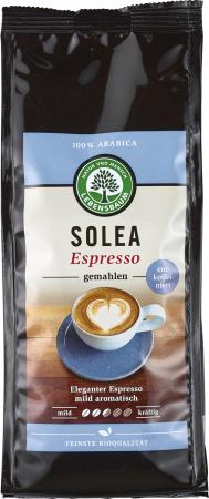 Cafea Solea Espresso macinata decofeinizata