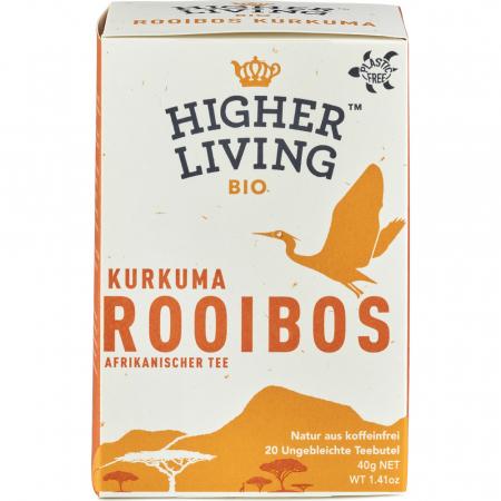 Ceai bio Rooibos cu turmeric