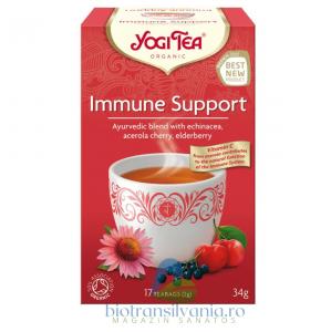 Ceai BIO Sprijin Imunitar 17 pliculete, 34g Yogi Tea0