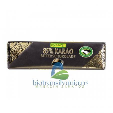 Ciocolata BIO Amaruie Mica 85% Cacao, 20g Rapunzel