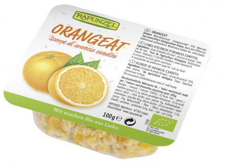 Coaja bio de portocale fara zahar
