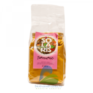 Condiment turmeric macinat 140g Solaris0