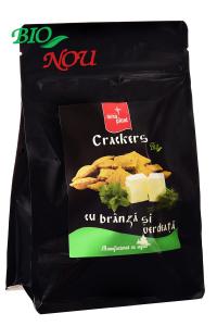 Crackers cu branza si verdeata BIO Nera Plant