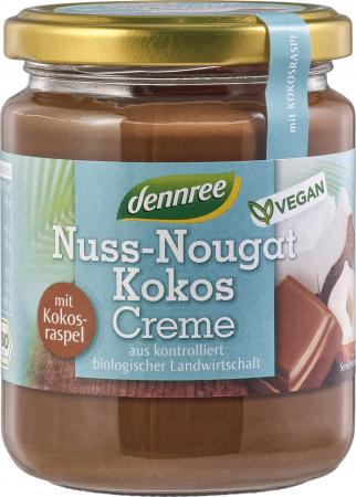 Crema bio nuss-nougat cu cocos VEGANA