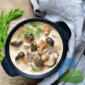 Crema Eco Vegetala pentru Gatit din Migdale, 200ml Ecomil Cuisine1