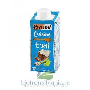 Crema Eco Vegetala pentru Gatit Thai, 200ml Ecomil Cuisine0