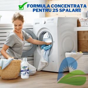 Detergent Lichid Rufe Albe Eco 1000ml BioPuro1