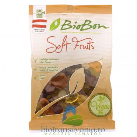 Jeleuri BIO cu Fructe Fara Gluten, 100g BioBon