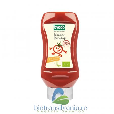 Ketchup Bio pentru Copii cu 80% Tomate Fara Gluten, 300ml Byodo