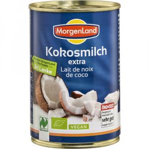 Lapte de cocos Bio 400 ml Morgenland