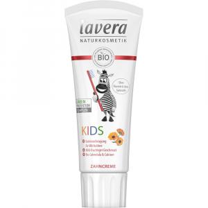 Pasta de dinti fara fluor pentru copii 75 ml Lavera