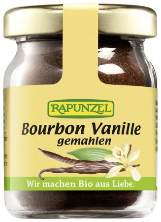 Pudra de Bourbon vanilie bio macinata NOP