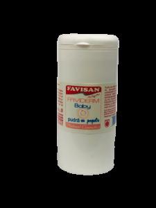 Pudra Faviderm baby cu propolis 100ml Favisan