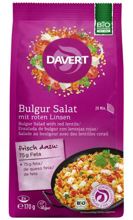 Salata de bulgur cu linte rosie