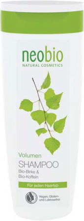 Sampon ecologic pentru volum