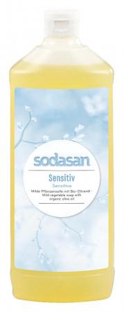Sapun lichid pentru ingrijire naturala Sensitiv Refill