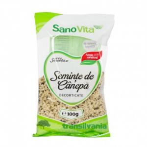 Semințe de cânepă 100gr Sanovita