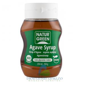 Sirop Bio de Agave Indulcitor 250ml Natur Green0
