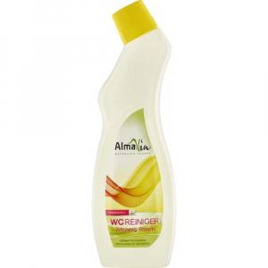 Solutie pentru curatat toaleta Lemon fresh 750 ml AlmaWin