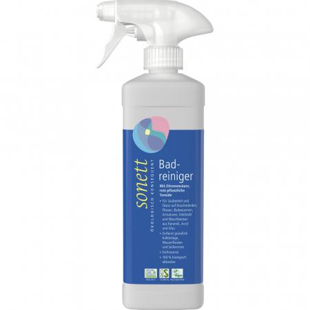 Solutie pentru curatat baia in sticla cu spray