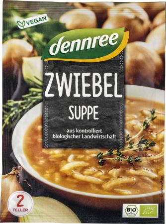 Supa crema de ceapa, instant