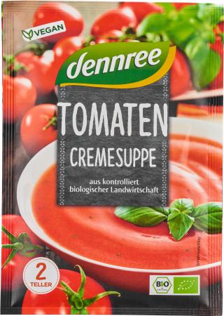 Supa crema de rosii, la plic