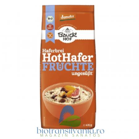 Terci BIO de Ovaz si Fructe Fara Gluten, 400g Bauck Hof