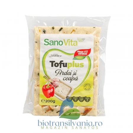 Tofu cu Ardei si Ceapa, 200g SanoVita