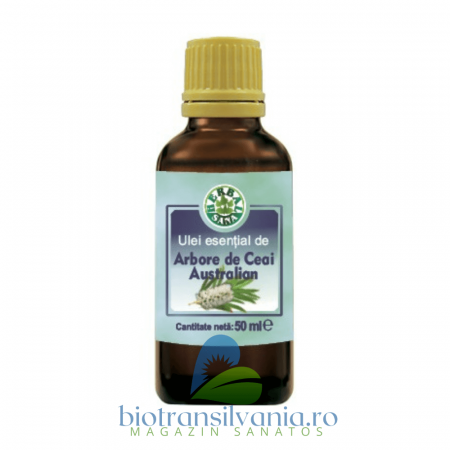 Ulei Esential de Arbore de Ceai Australian, 10ml Herbalsana