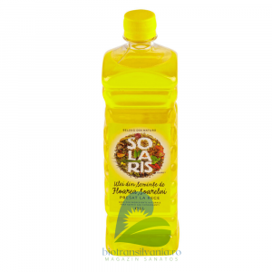 Ulei din seminte de Floarea soarelui Presat la Rece 1000ml Solaris0
