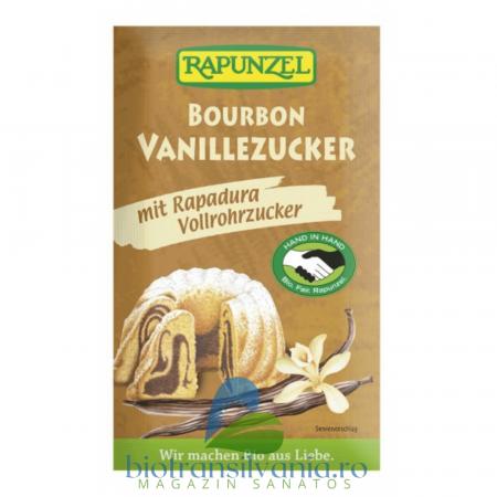 Zahar BIO Vanilie Bourbon Integral, 8g Rapunzel
