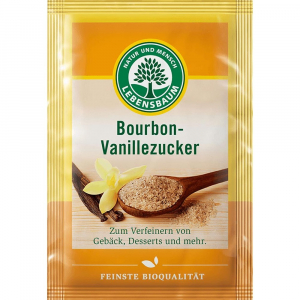 Zahar vanilat Bourbon 4x8g Bio Lebenbaum
