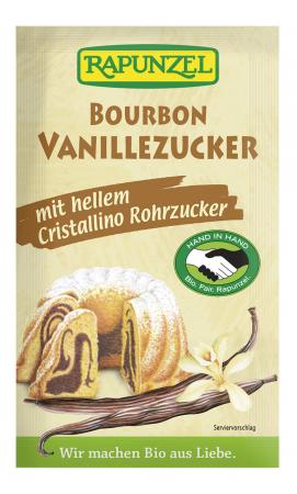 Zahar vanilie Bourbon alb