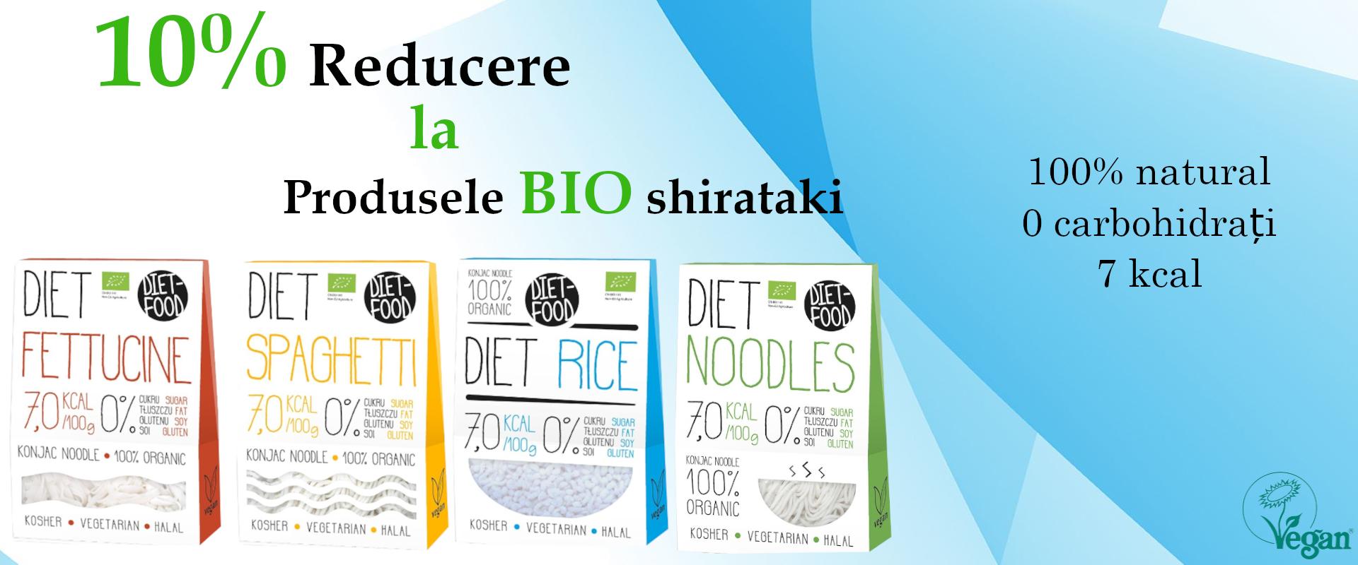 Reducere 10% La Shirataki