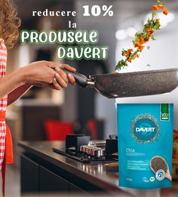 Reducere 10 % produse Bio Davert