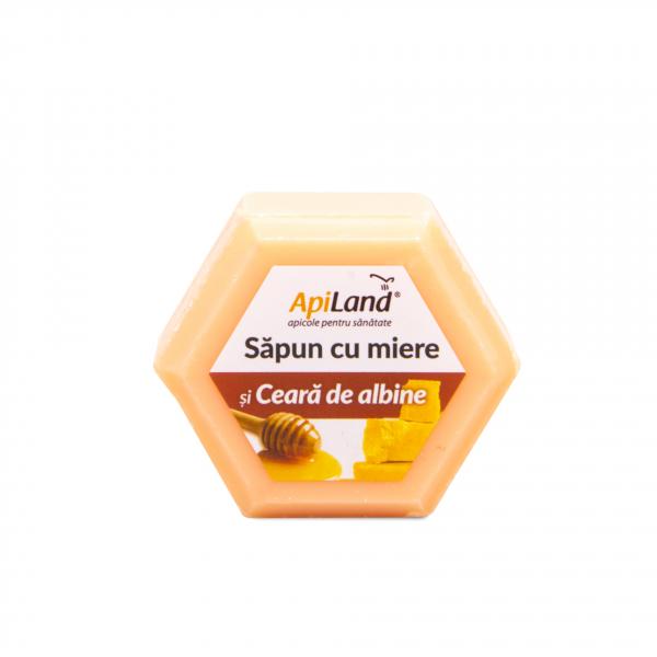 SAPUN CU MIERE SI CEARA DE ALBINE -100G 0