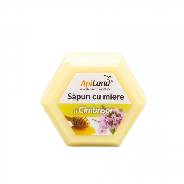SAPUN CU MIERE SI CIMBRISOR -100G 0