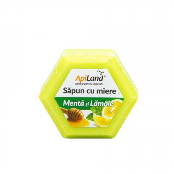 SAPUN CU MIERE, MENTA SI LAMAIE - 100G 0