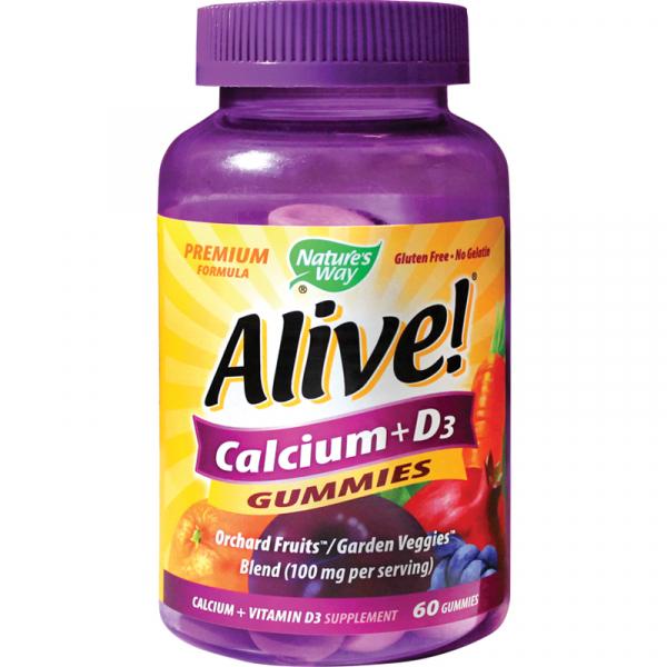 Alive!® Calcium + D3 Gummies 0