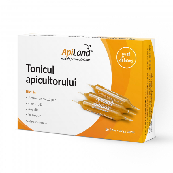 TONICUL APICULTORULUI - 10ml x 10 fiole 0