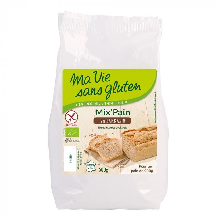 Amestec pentru paine cu hrisca fara gluten 500g [0]