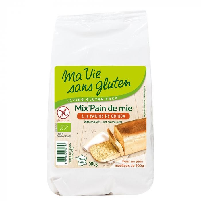 Amestec pentru paine cu quinoa - fara gluten 500g [0]
