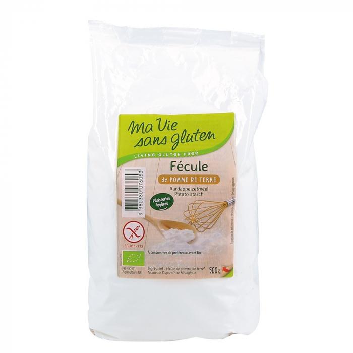 Amidon de cartofi - fara gluten 500g [0]