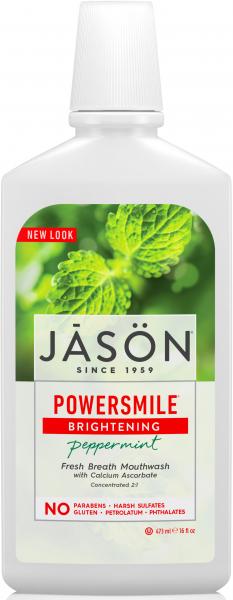 Apa de gura Power Smile pt albire si respiratie proaspata, Jason [0]