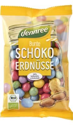 Arahide colorate cu ciocolata de lapte eco 100 g 0