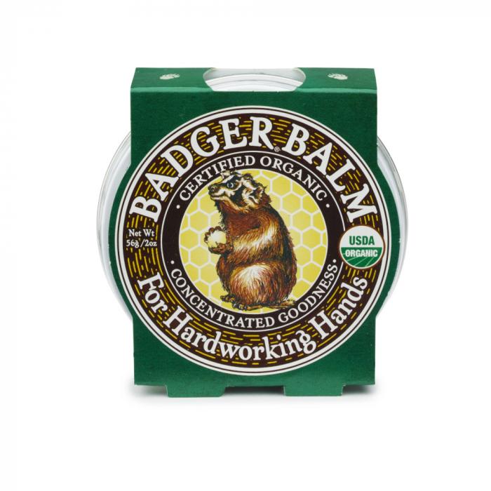 Balsam pentru maini crapate si muncite, Hardworking Hands Badger, 56 g [0]