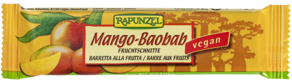Baton de fructe cu Mango si Baobab  40 g 0