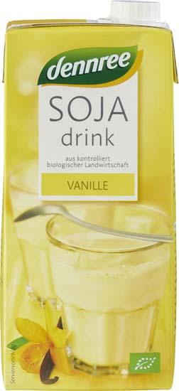 Bautura de soia cu vanilie 1 l 0