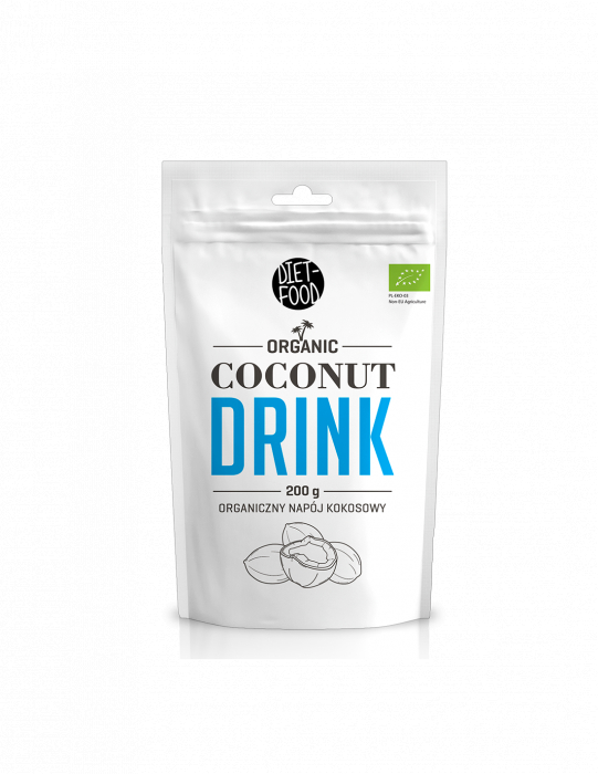 Bautura vegana din cocos - pulbere bio 200g [0]